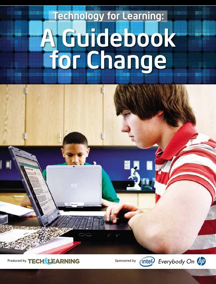 Technology for learning   a guidebook for change