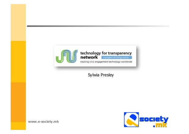 Technology for Transparency