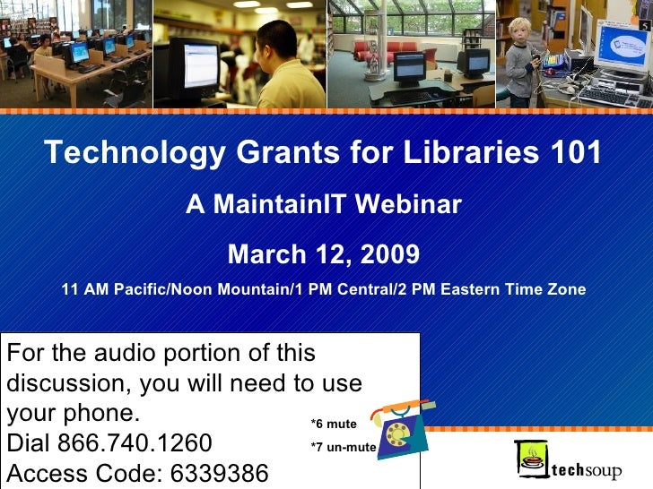 Technology Grants 101 March 2009