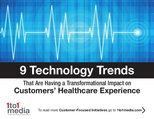 9 Technology Trends in Healthcare E-book