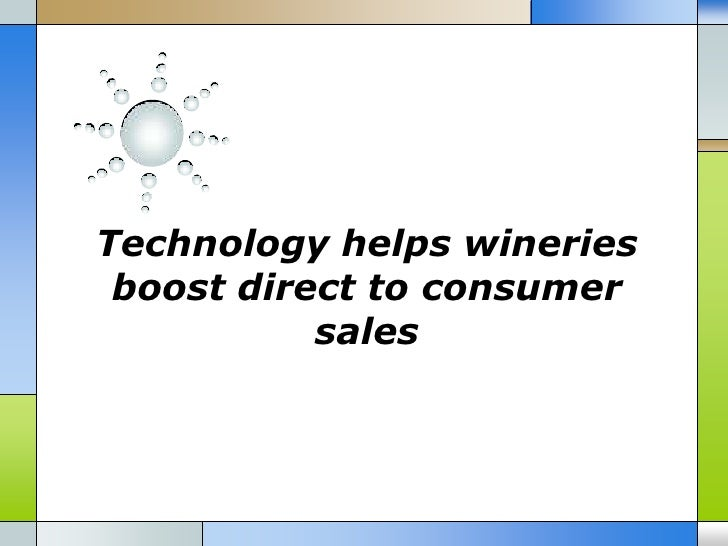 Technology helps wineries boost direct to consumer sales