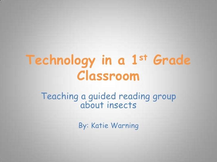 Technology In A 1st Grade Classroom