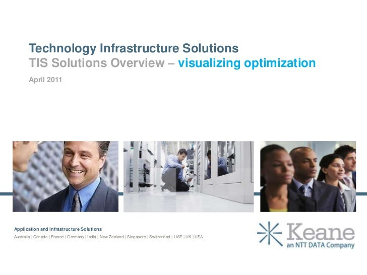 Technology Infrastructure Solutions<br />TIS Solutions Overview – visualizing optimization<br />April 2011<br />