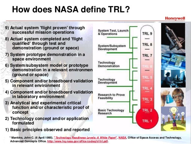 Technology readiness level - Wikipedia