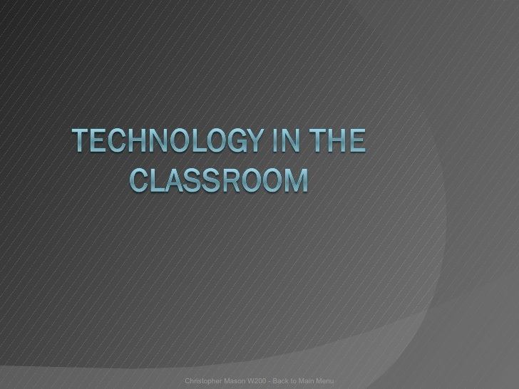 Technology In The Classroom 2