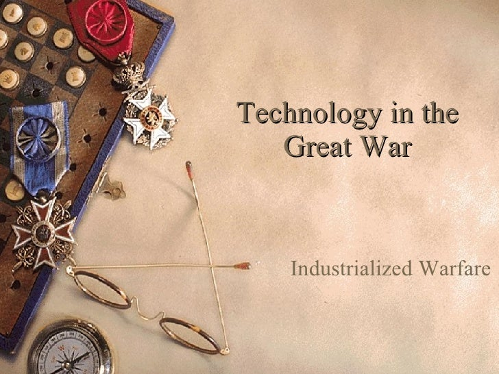 Technology In The Great War