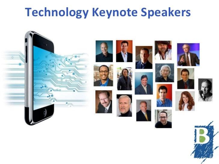 Technology Keynote Speakers