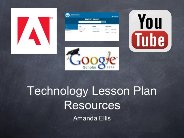 Technology Lesson Plan Resources