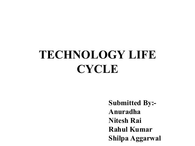 TECHNOLOGY LIFE CYCLE Submitted By:Anuradha Nitesh Rai Rahul Kumar Shilpa Aggarwal