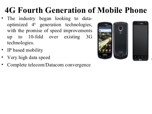 Technology Life Cycle With Mobile Generation Example