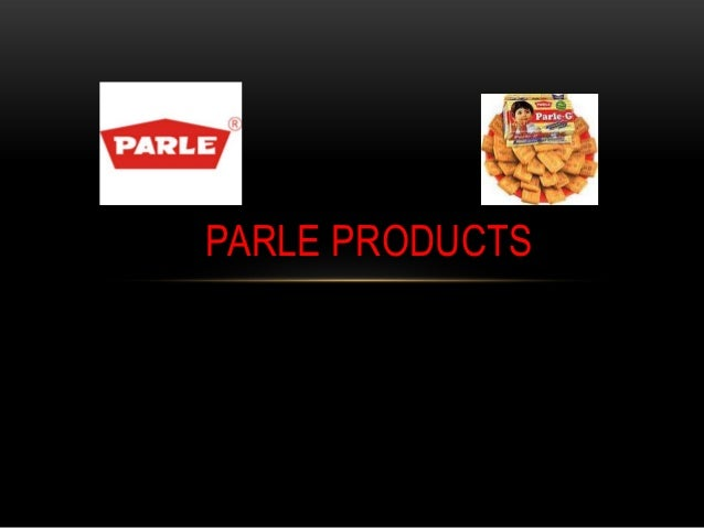 Technology management  - parle products
