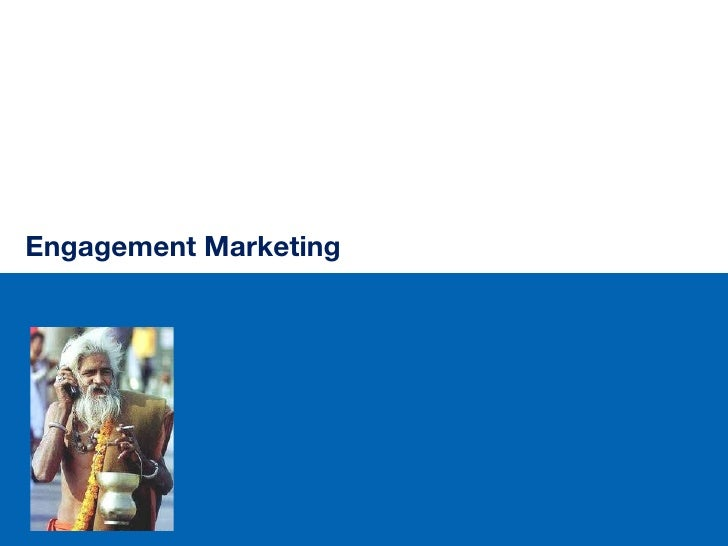 Technology marketing  it is all about engagement