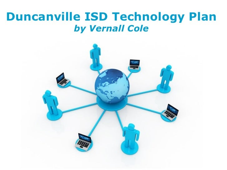 Free   Powerpoint   Templates Duncanville ISD Technology Plan by Vernall Cole