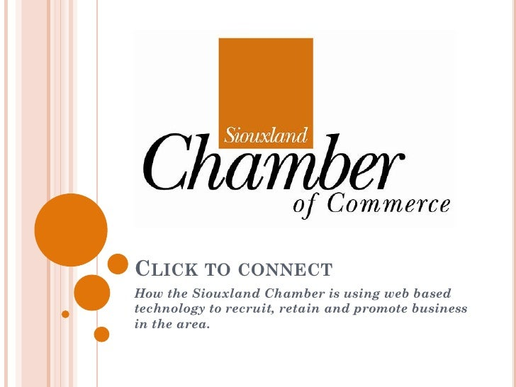 How the Chamber is Using Technology to Help Business