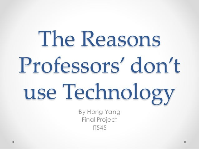 technology use in the classroom essay