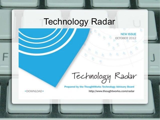 Technology Radar