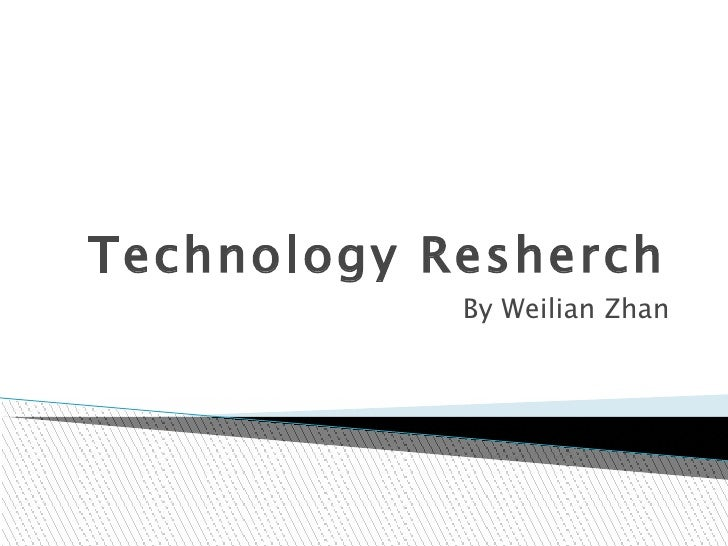 Technology resherch 1_