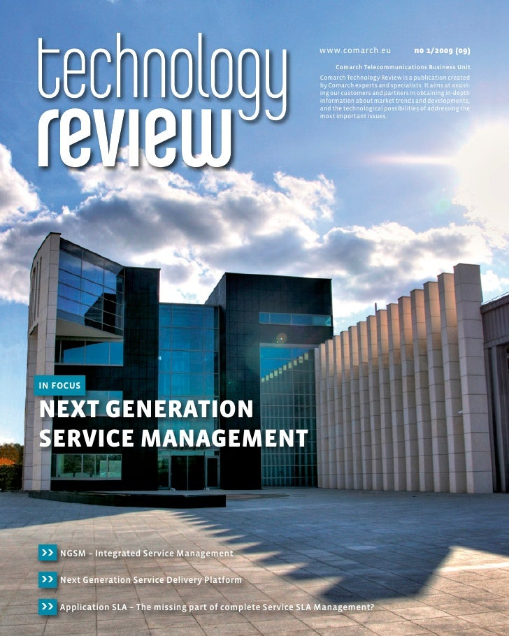 Technology Review | In Focus: Next Generation Service Management