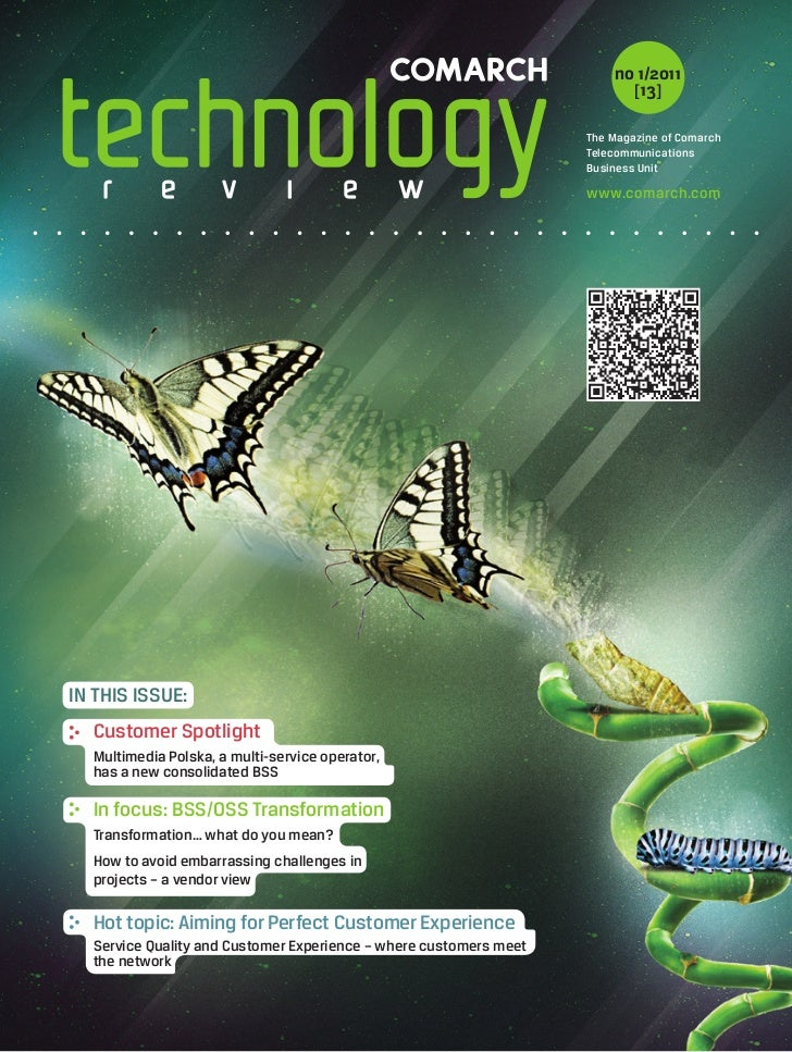 Comarch Technology Review Magazine 2011/01