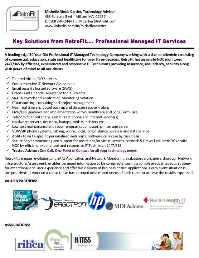 Professional IT Managed Services