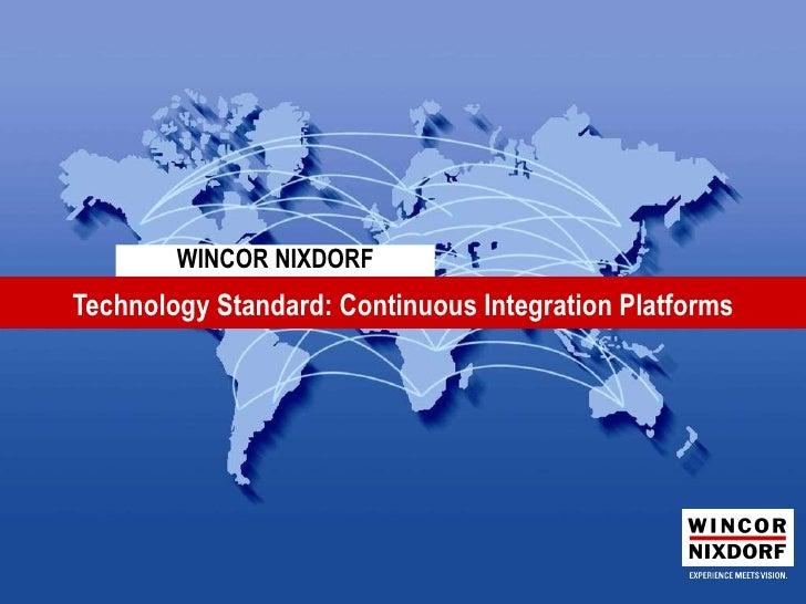 Technology standard ci_platforms