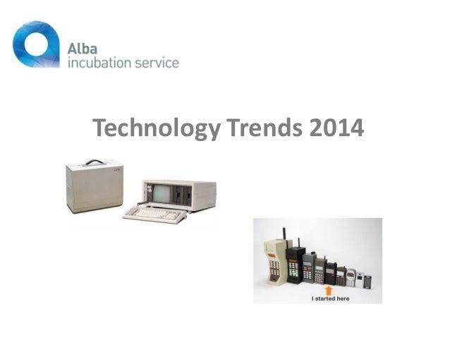 Technology Trends 2014