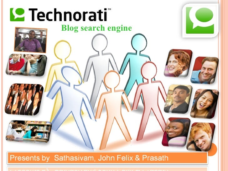 Blog search engine