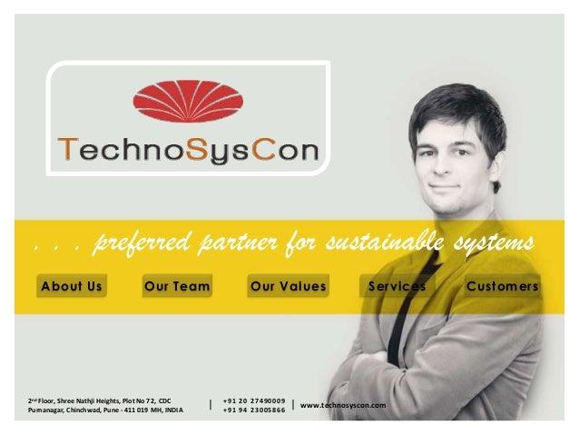 TechnoSysCon Company Profile