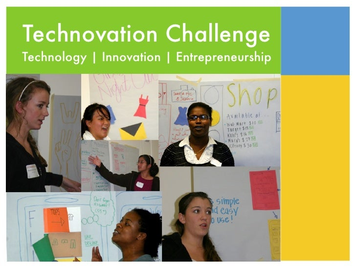 Technovation Challenge Technology | Innovation | Entrepreneurship