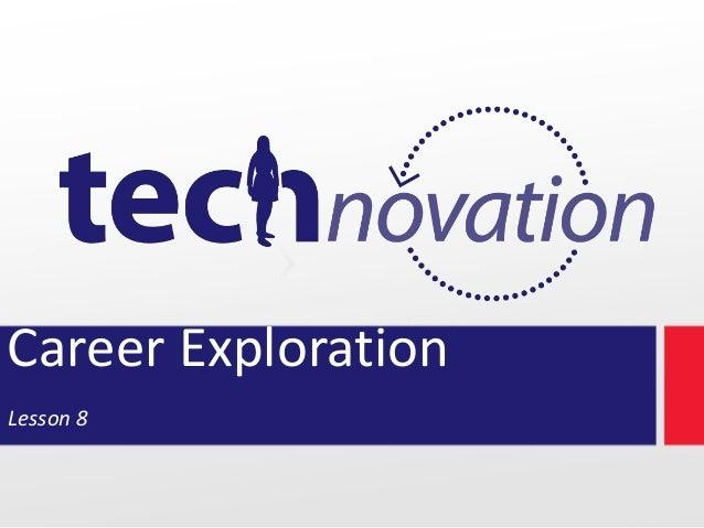 Career Exploration Lesson 8