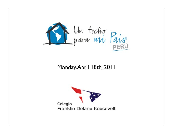 Monday, April 18th, 2011
