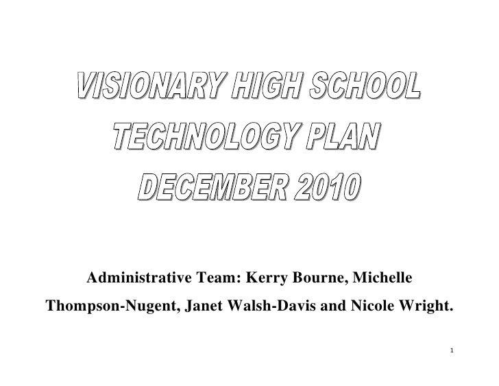 Tech plan group work