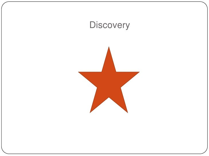 Discovery Strategy