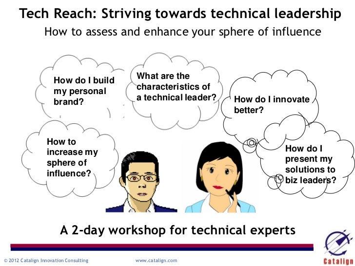 Tech Reach: Striving towards technical leadership