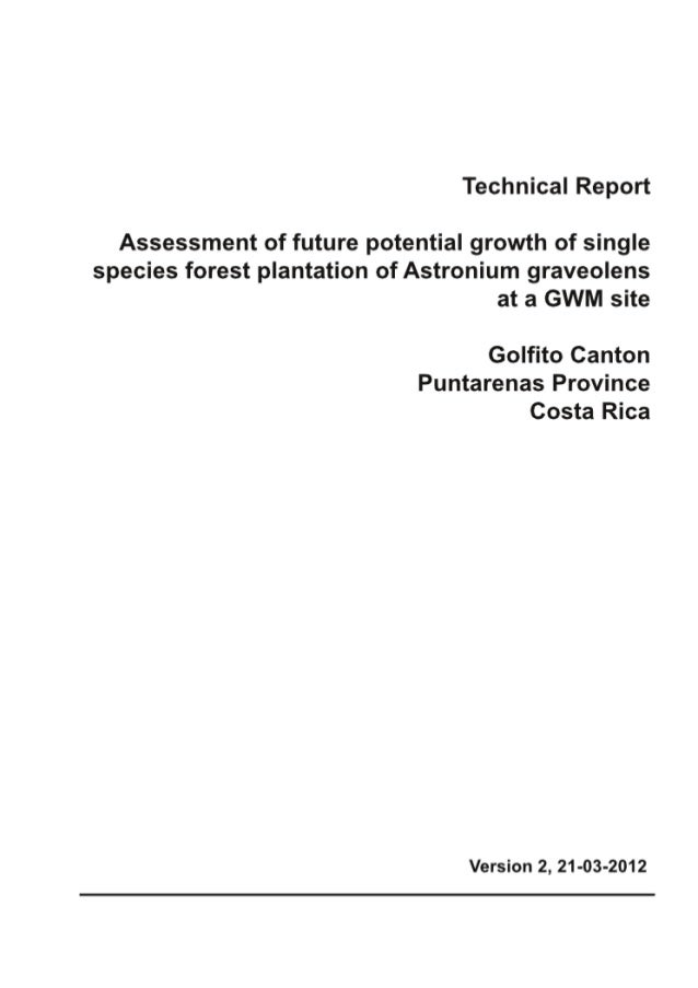 Greenwood Management Technical Forestry Report astronium_90dpi