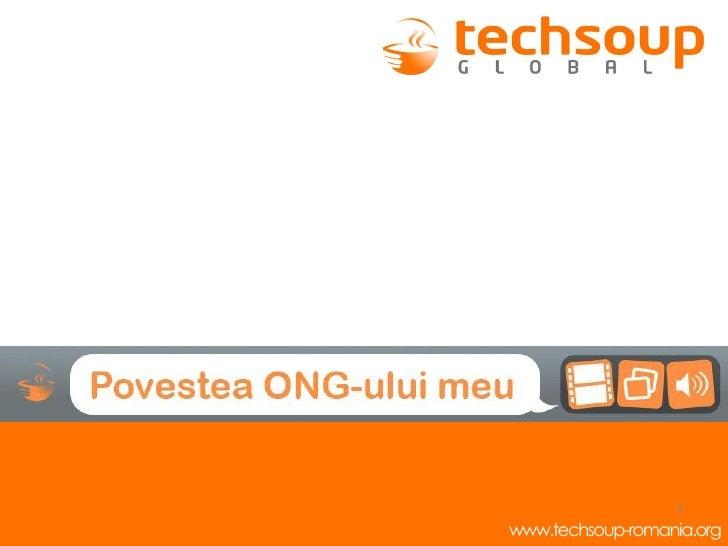 2011.01.21 - Webcast - TechSoup, Povestea ONG-ului meu
