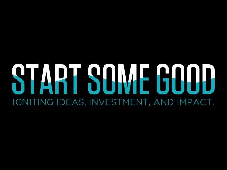 NPLive: Future of Fundraising: StartSomeGood