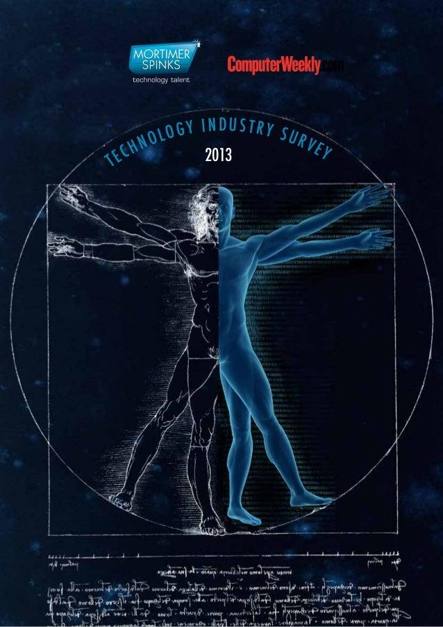 Tech survey 2013