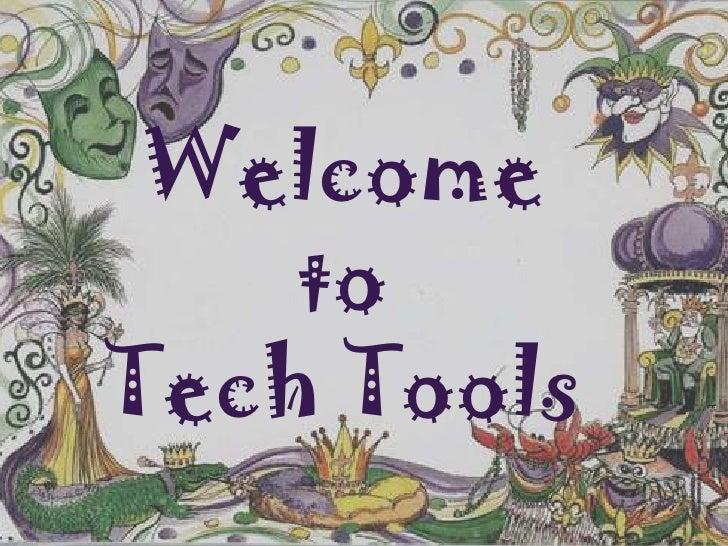 Tech Tools Presentation