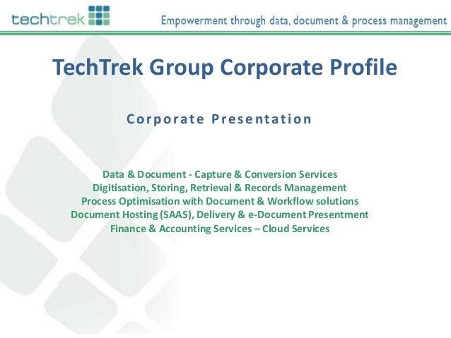 TechTrek India Corporate Overview