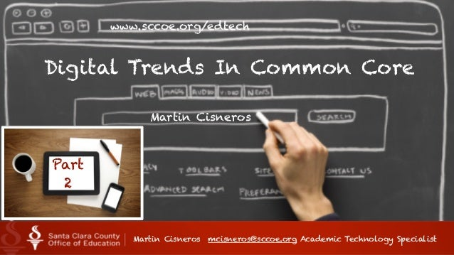 Tech Trends in CCSS Part 2