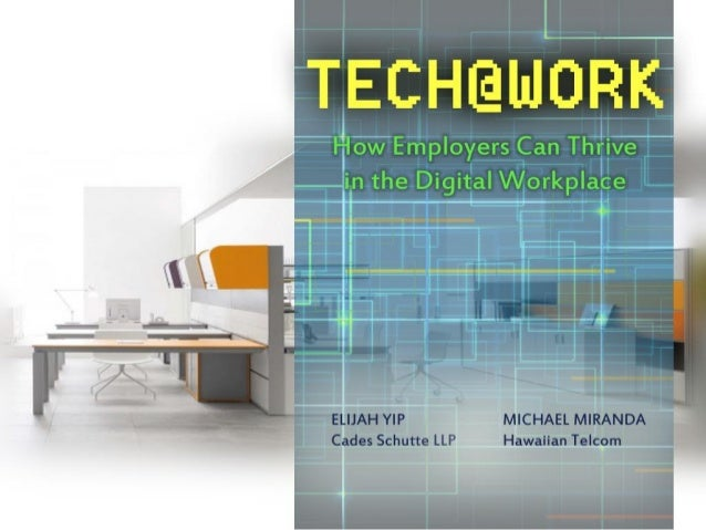 Tech@Work: How Employers Can Thrive in the Digital Workplace