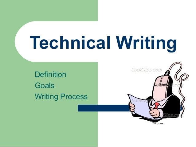 Tech writdefgoalsprocess