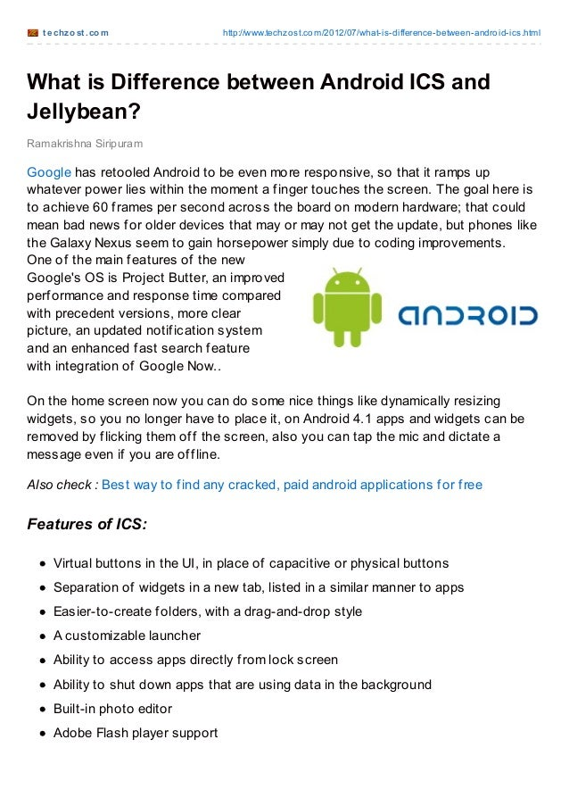 t echzost .com http://www.techzost.com/2012/07/what-is-difference-between-android-ics.htmlWhat is Difference between Andro...
