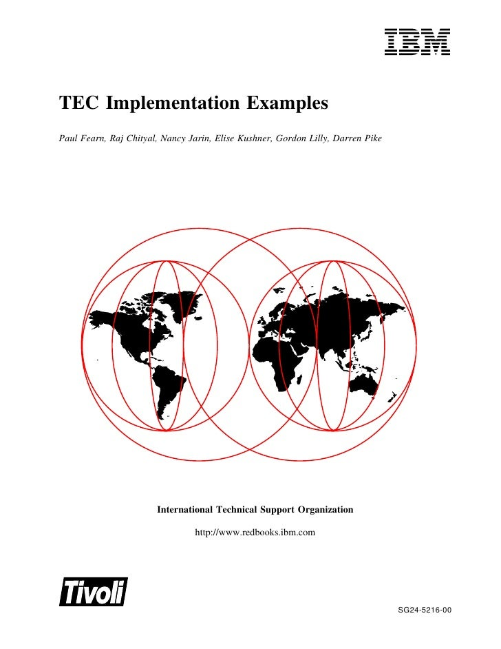 Tec implementation examples sg245216