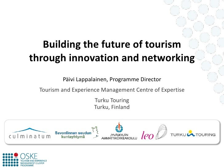 Building the Future of Tourism through Innovation and Networking