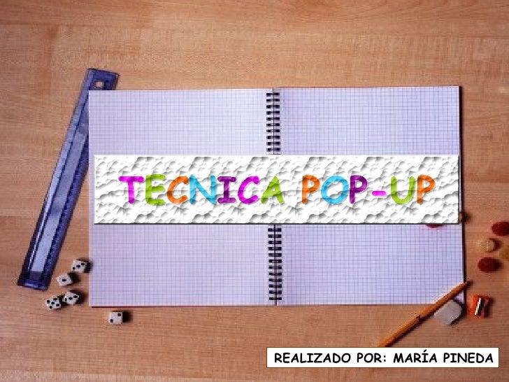 Tecnica Pop Up