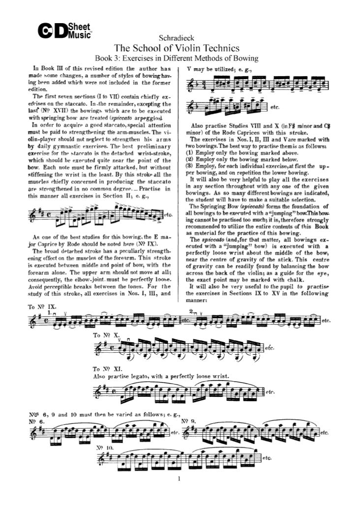 Tecnica pr violino livro iii   schradieck (www.sheetmusic-violin.blogspot.com)