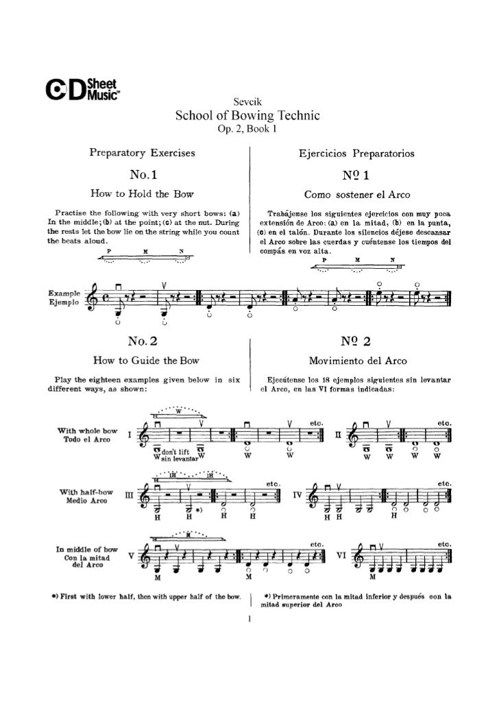 Tecnica pr violino livro i op.2   sevcik (www.sheetmusic-violin.blogspot.com)