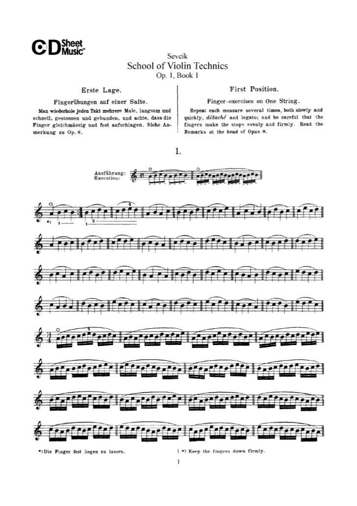 Tecnica pr violino parte i op.1   sevcik (www.sheetmusic-violin.blogspot.com)